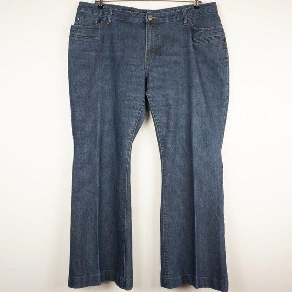 a.n.a Denim - ana Jeans Modern Fit Dark Wash High Rise Boot Cut